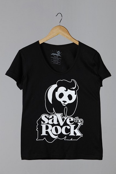 Camiseta Save the Rock