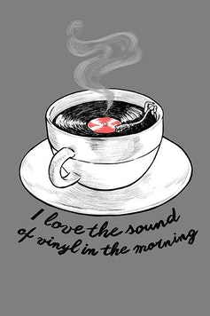 Estampa Camiseta Sounds Like Coffee
