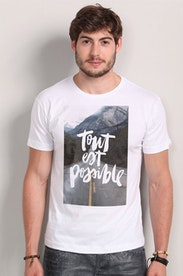 Camiseta Tout Est Possible