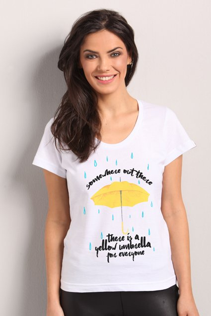 Camiseta Yellow Umbrella