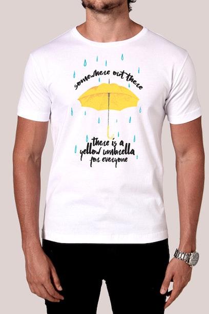 Camiseta Yellow Umbrella