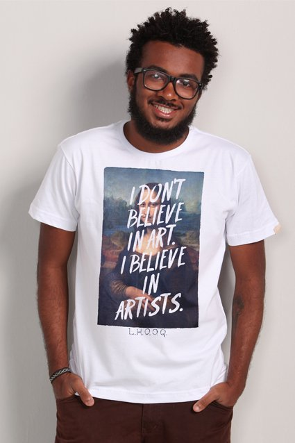 Camiseta Camiseta Duchamp