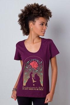 Camiseta A Bela e a Fera