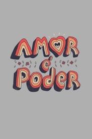 Estampa Camiseta Amor é Poder