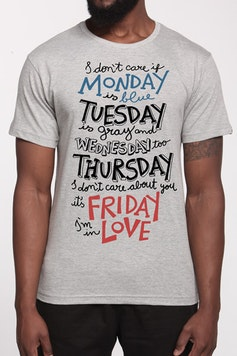 Camiseta Friday I'm in Love