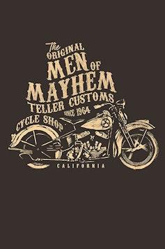 Estampa Camiseta Men of Mayhem