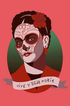 Estampa Camiseta Frida Kahlo