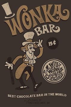 Estampa Camiseta Wonka Bar