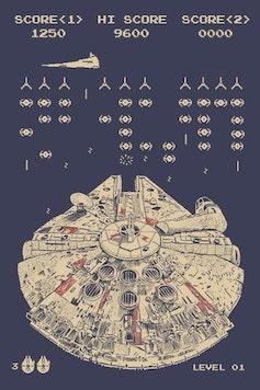 Estampa Camiseta Space Smuggler