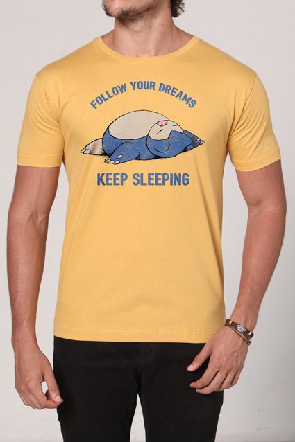 Camiseta Follow Your Dreams