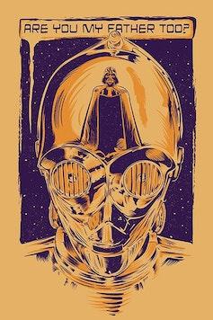 Estampa Camiseta Droid, I'm Your Father