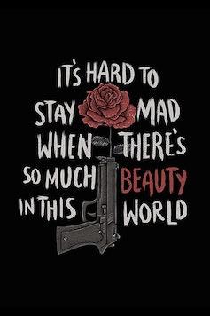 Estampa Camiseta American Beauty