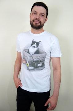 Camiseta Gato de Schwarzadinger