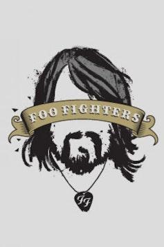 Estampa Camiseta Foo Fighters