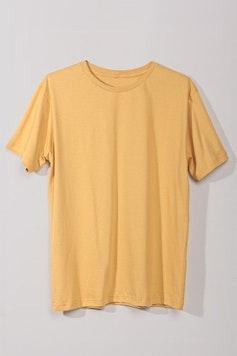 Estampa Camiseta Básica Amarelo Dente-de-Leão