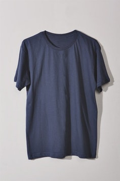 Estampa Camiseta Básica Azul Surf
