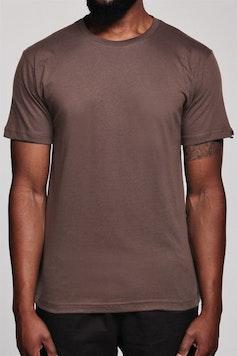 Camiseta Básica Marrom Brick