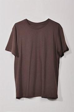 Estampa Camiseta Básica Marrom Brick