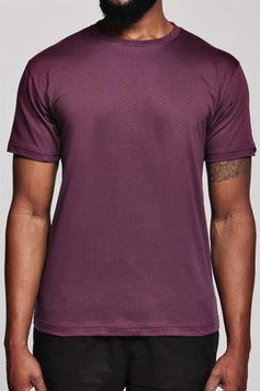 Camiseta Básica Bordô Marsalado