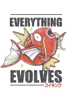 Estampa Camiseta Everything Evolves