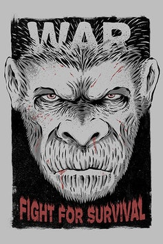 Estampa Camiseta Planeta dos Macacos