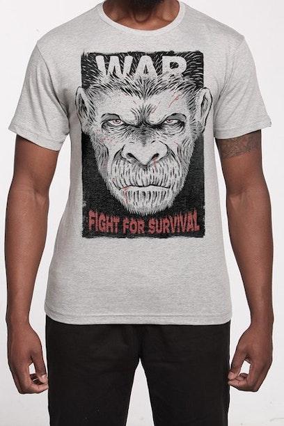 Camiseta Planeta dos Macacos