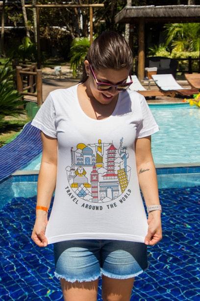Camiseta Around The World