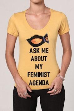 Camiseta Feminist Agenda