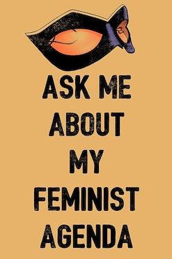 Camiseta Feminist Agenda R$69,90 | 4x de R$17,48