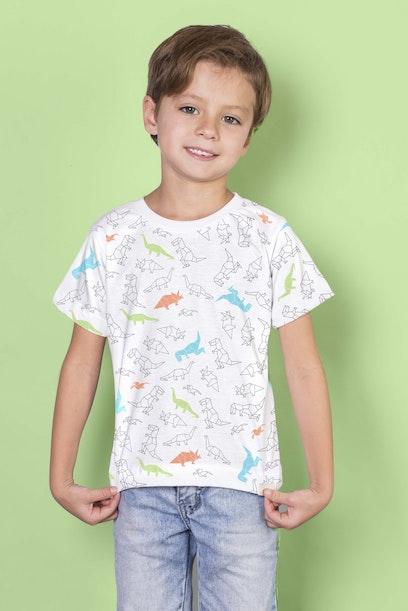 Camiseta Infantil Dino