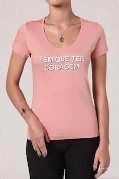 Camiseta Coragem