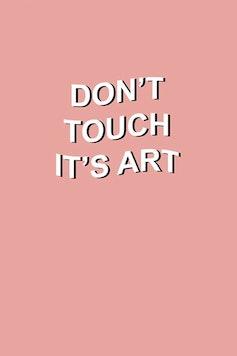 Estampa Camiseta It's Art