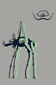 Estampa Camiseta Salvador Dalí