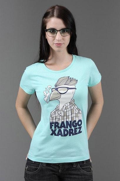 e323e9266d Camiseta Frango Xadrez - Chico Rei