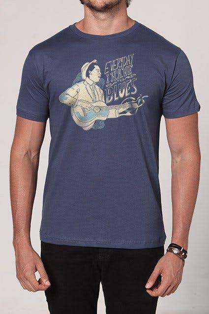 Camiseta Blues