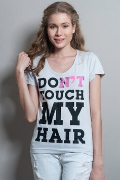 Camiseta Don't Touch My Hair
