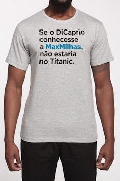 Estampa Camiseta MaxMilhas Titanic