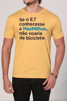 Estampa Camiseta MaxMilhas E.T