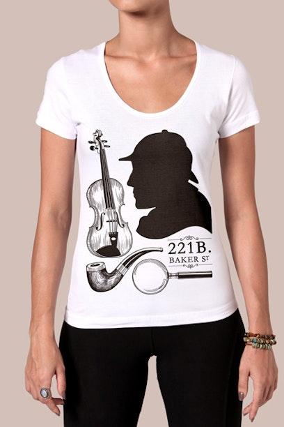 Camiseta Sherlock Holmes