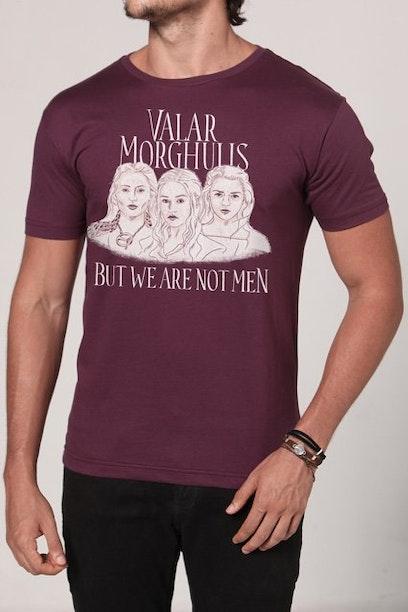 Camiseta Valar Morghulis