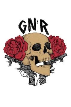 Estampa Camiseta Guns N' Roses