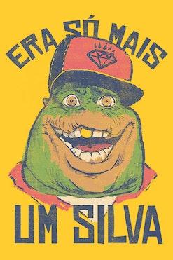 Camiseta Rap do Silva Sauro R$69,90 | 4x de R$17,48