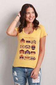 Camiseta A Fantástica Fábrica da MPB