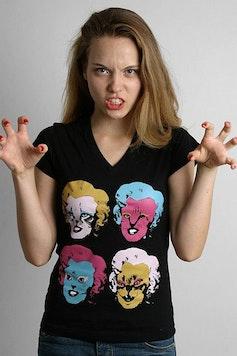 Camiseta Marilyn Cats
