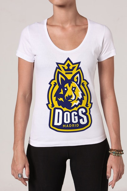 Camiseta Madrid Dogs
