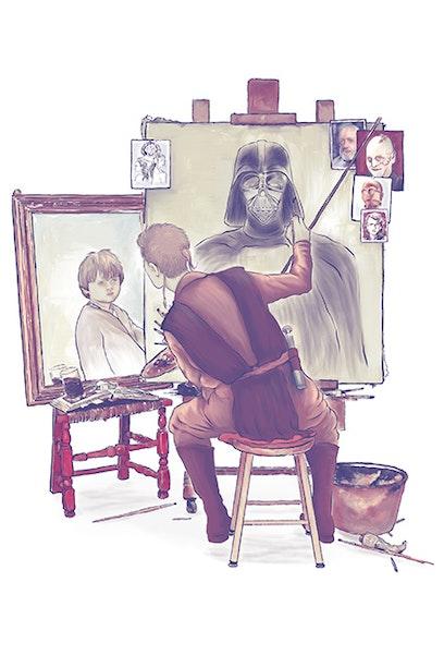 Camiseta Anakin's Portraits