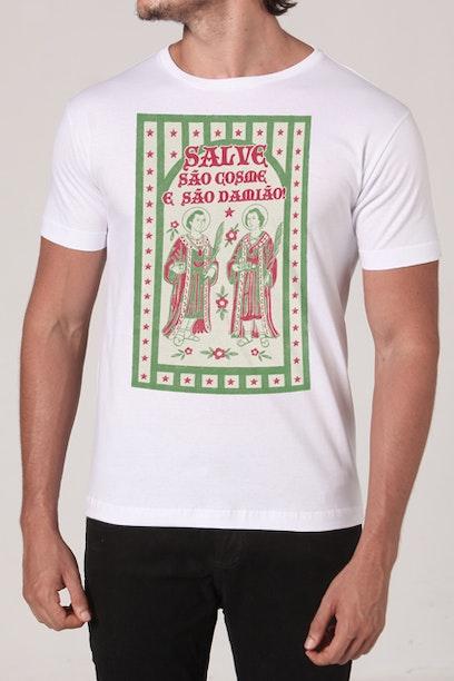 Camiseta Cosme e Damião