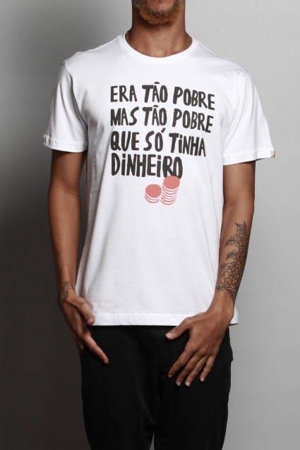 Camiseta Pobreza