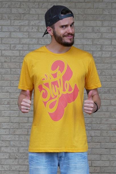 Camiseta Style - Chico Rei 5e418ff4292eb