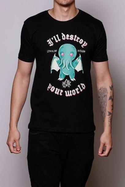 Camiseta Cute Cthulhu